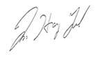 CEO 서명